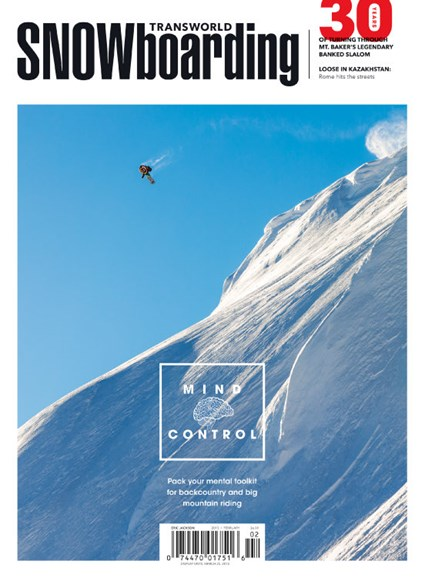 Transworld SNOWboarding Cover - 2/1/2015