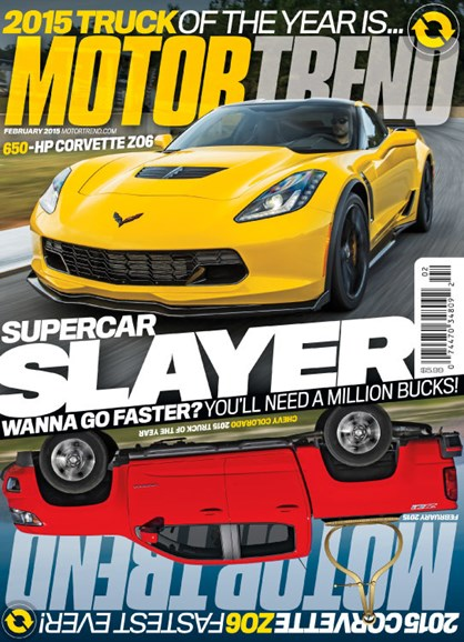 Motor Trend Cover - 2/1/2015