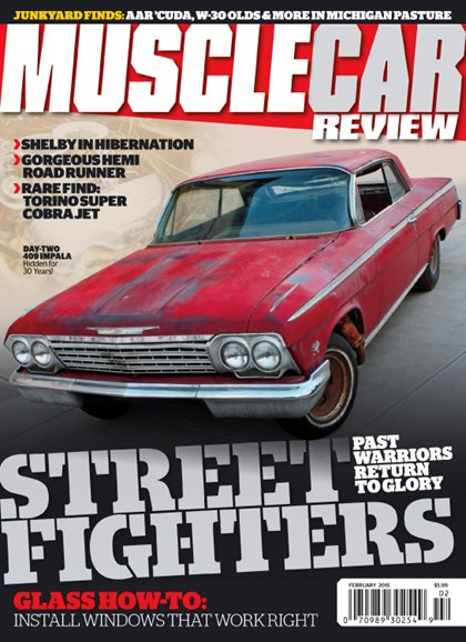 Muscle Car Review Cover - 2/1/2015