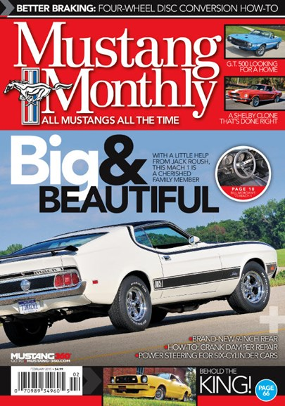 Mustang Monthly Cover - 2/1/2015