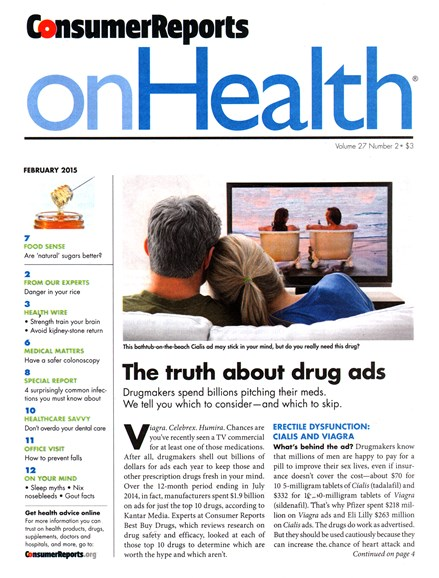 Consumer Reports On Health Cover - 2/1/2015