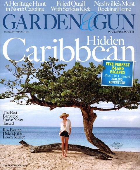 Garden & Gun Cover - 2/1/2015