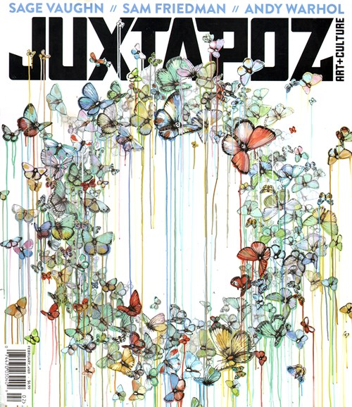 Juxtapoz Cover - 2/1/2015