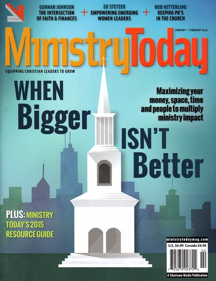Ministry Today Cover - 1/1/2015