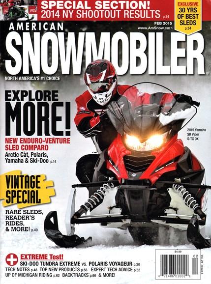 American Snowmobiler Cover - 2/1/2015