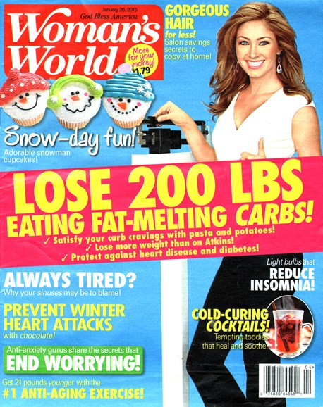 Woman's World Cover - 1/26/2015