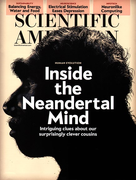 Scientific American Cover - 2/1/2015