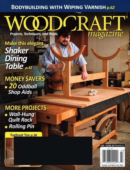 Woodcraft Cover - 2/1/2015