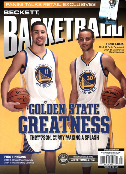 Beckett Basketball Cover - 2/1/2015