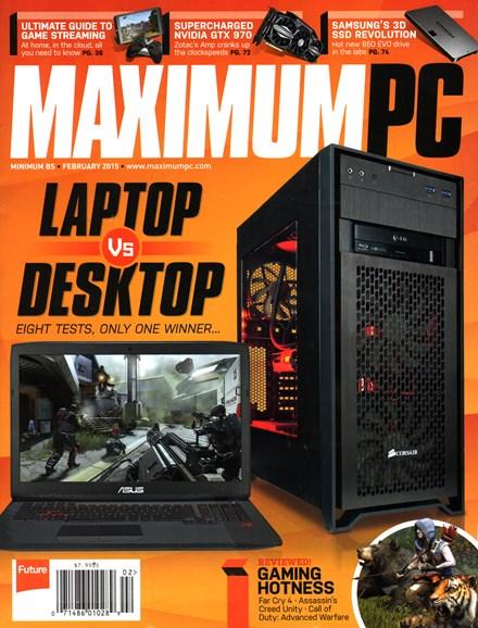 Maximum PC Cover - 2/1/2015