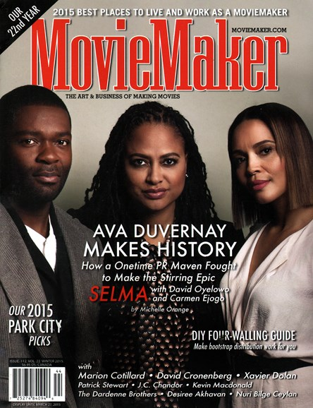Moviemaker Magazine Cover - 1/1/2015