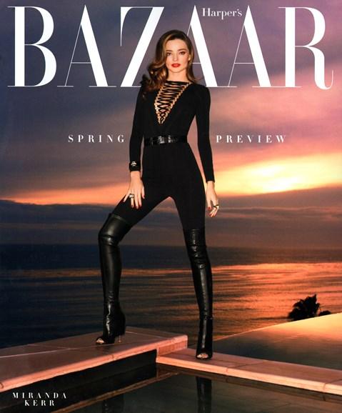 Harper's Bazaar Cover - 2/1/2015