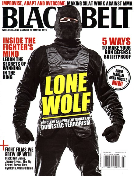 Black Belt Magazine Cover - 2/1/2015