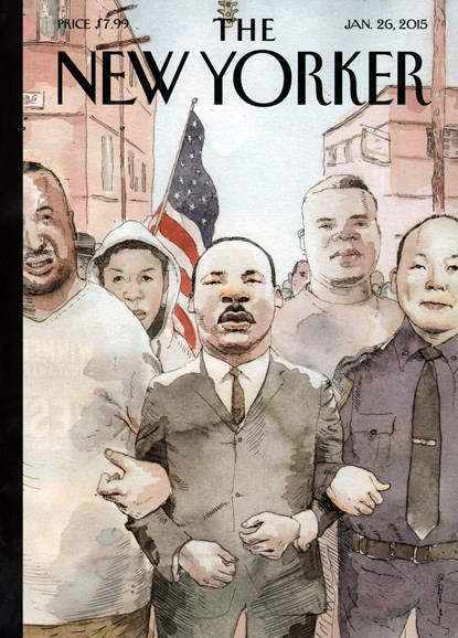 The New Yorker Cover - 1/26/2015