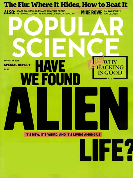 Popular Science Cover - 2/1/2015