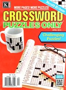 Herald Tribune Crossword Puzzles Magazine 4/1/2015