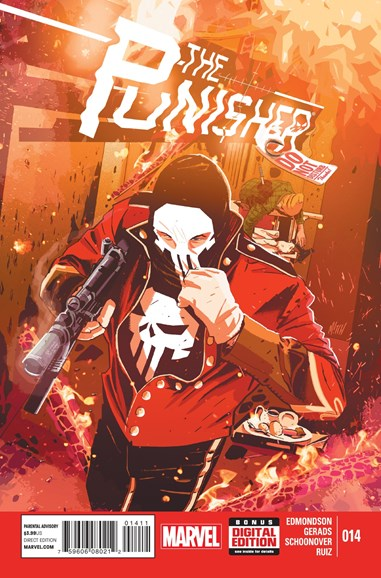 The Punisher Cover - 3/1/2015