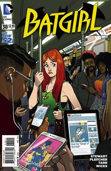 Batgirl Cover - 3/1/2015