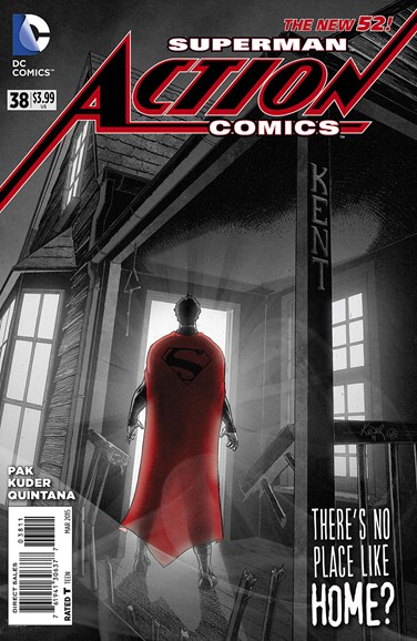 Action Comics Cover - 3/1/2015