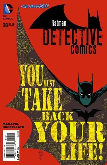 Detective Comics Cover - 3/1/2015
