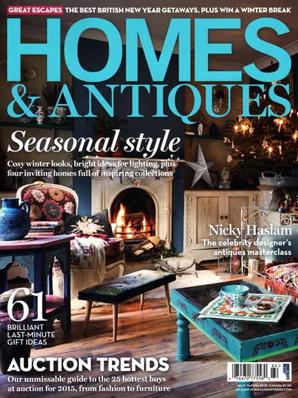 Homes & Antiques Cover - 1/1/2015