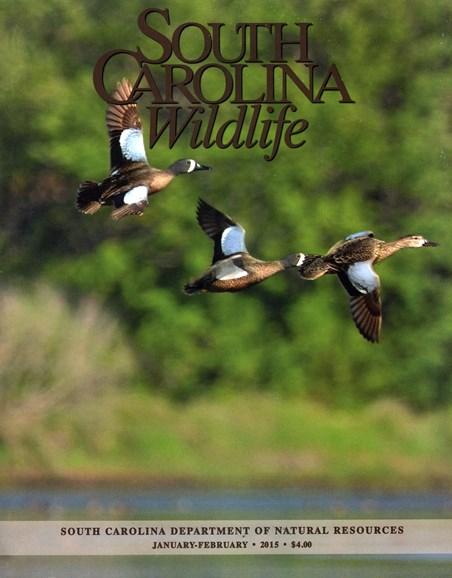 South Carolina Wildlife Cover - 1/1/2015