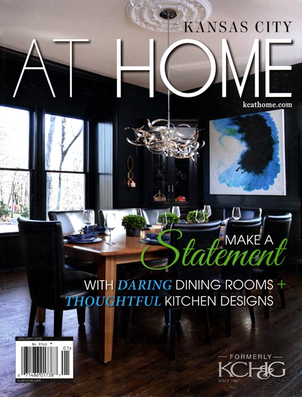 Kansas City Homes & Gardens Cover - 1/1/2015