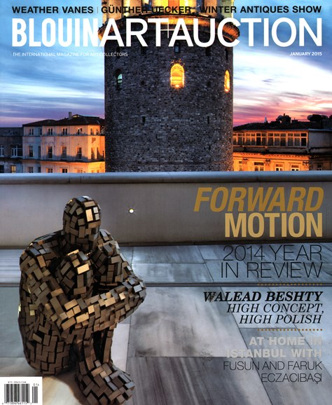 Blouin Art & Auction Cover - 1/1/2015