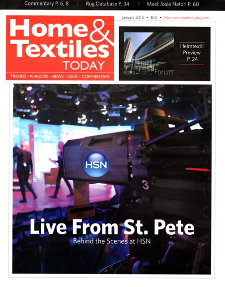 Home & Textiles Today Cover - 1/1/2015