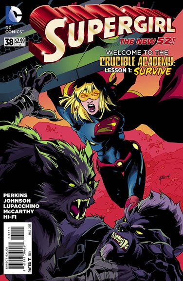 Supergirl Cover - 3/1/2015
