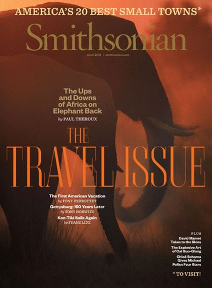 Smithsonian Cover - 4/1/2013