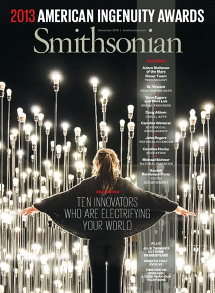 Smithsonian Cover - 12/1/2013