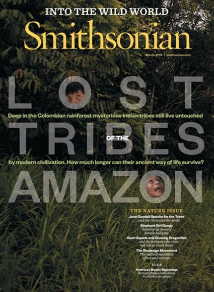 Smithsonian Cover - 3/1/2013