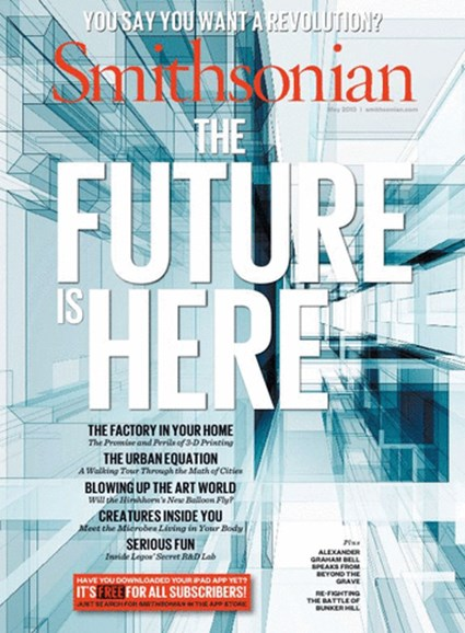 Smithsonian Cover - 5/1/2013