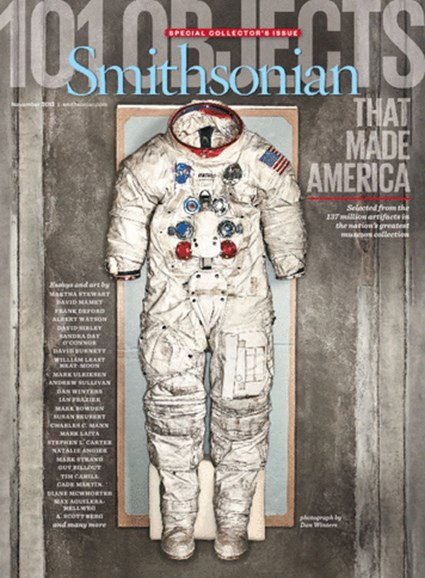 Smithsonian Cover - 11/1/2013