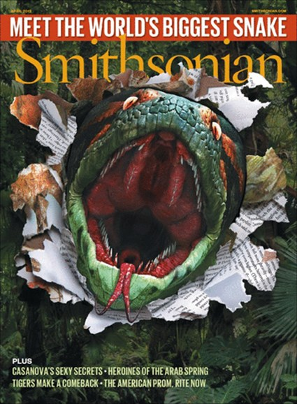 Smithsonian Cover - 4/1/2012