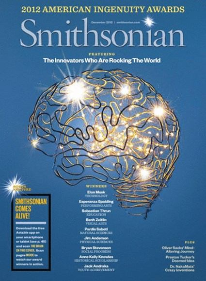 Smithsonian Cover - 12/1/2012