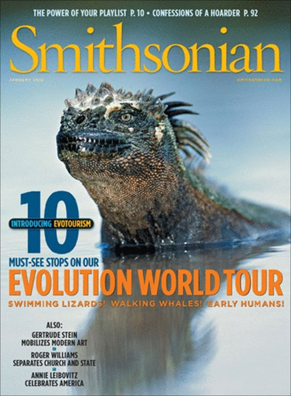 Smithsonian Cover - 1/1/2012