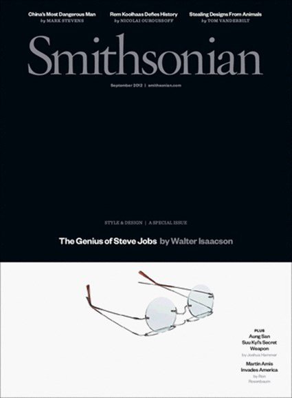 Smithsonian Cover - 9/1/2012