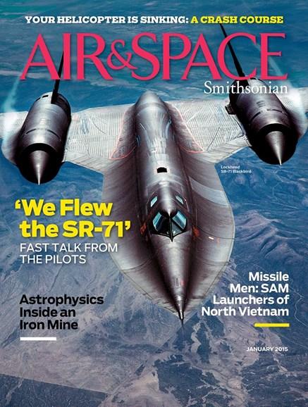 Air & Space Cover - 1/1/2015