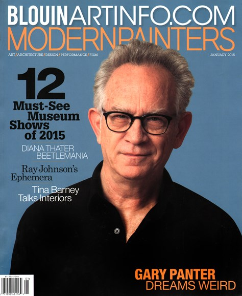 Blouin Modern Painters Cover - 1/1/2015