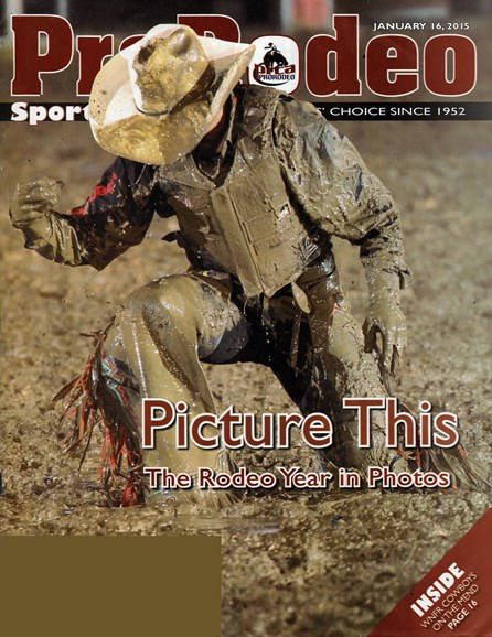 Pro Rodeo Sports News Cover - 1/16/2015