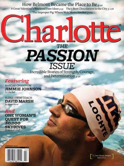 Charlotte Magazine Cover - 2/1/2015