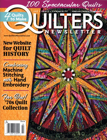 Quilter's Newsletter Cover - 2/1/2015