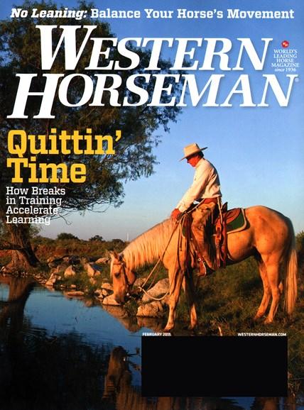 Western Horseman Cover - 2/1/2015