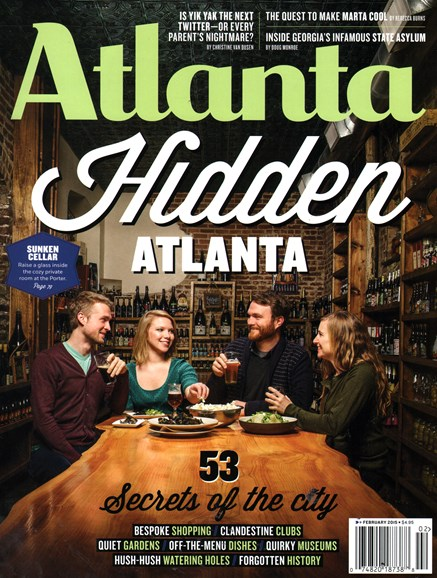 Atlanta Magazine Cover - 2/1/2015