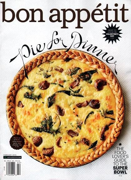 Bon Appétit Cover - 2/1/2015