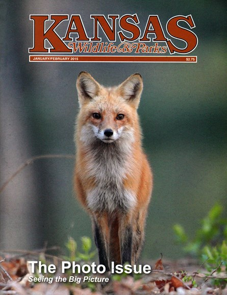 Kansas Wildlife & Parks Cover - 1/1/2015