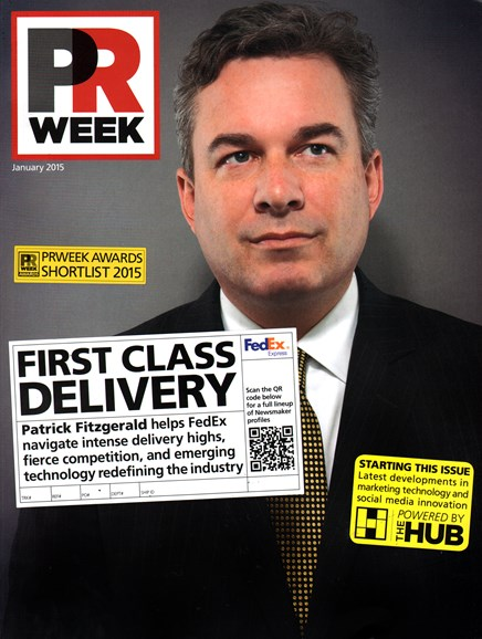 PRWeek Cover - 1/1/2015