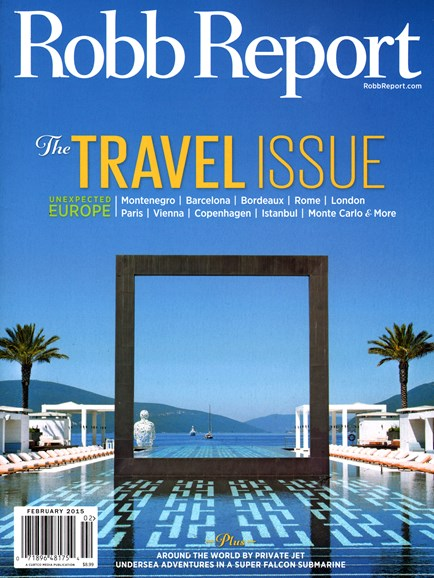 Robb Report Cover - 2/1/2015